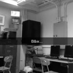 snapchat black and white filter