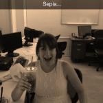 Snapchat sepia maken